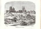 1859 - Gravure Sur Bois - Loches (Indre-et-Loire) - Au 17ème Siècle - PRÉVOIR FRAIS DE PORT - Estampes & Gravures