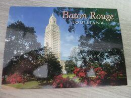 BATON ROUGE LOUISIANA STATE CAPITOL - - Baton Rouge