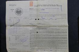 VIEUX PAPIERS - Royaume Uni - Connaissement De Londres En 1929 - Transport Pour Le Havre - L 69479 - United Kingdom