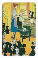 Tele 2000, U.S.A., Disney, 101 Dalmatians, Prepaid Phonecard, PROBABLY FAKE, # 101dalmatas-7 - Disney