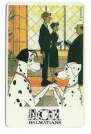 Tele 2000, U.S.A., Disney, 101 Dalmatians, Prepaid Phonecard, PROBABLY FAKE, # 101dalmatas-8 - Disney