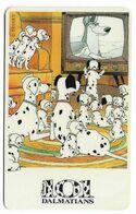 Tele 2000, U.S.A., Disney, 101 Dalmatians, Prepaid Phonecard, PROBABLY FAKE, # 101dalmatas-9 - Disney