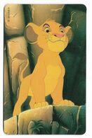 Tele 2000, U.S.A., Disney, The Lion KIng, Prepaid Phonecard, PROBABLY FAKE, # Lionking-3 - Disney