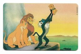 Tele 2000, U.S.A., Disney, The Lion KIng, Prepaid Phonecard, PROBABLY FAKE, # Lionking-4 - Disney