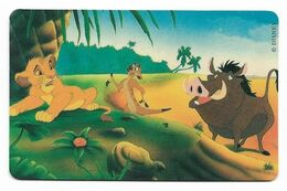 Tele 2000, U.S.A., Disney, The Lion KIng, Prepaid Phonecard, PROBABLY FAKE, # Lionking-6 - Disney