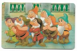 Tele 2000, U.S.A., Disney, SnowWhite, Prepaid Phonecard, PROBABLY FAKE, # Blancanieves-3 - Disney