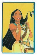 Tele 2000, U.S.A., Disney, Pocahontas, Prepaid Phonecard, PROBABLY FAKE, # Pocahontas-3 - Disney