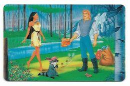 Tele 2000, U.S.A., Disney, Pocahontas, Prepaid Phonecard, PROBABLY FAKE, # Pocahontas-4 - Disney