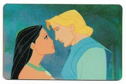 Tele 2000, U.S.A., Disney, Pocahontas, Prepaid Phonecard, PROBABLY FAKE, # Pocahontas-5 - Disney