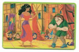 Tele 2000, U.S.A., Disney, The Hunchback Of Notre Dame, Prepaid Phonecard, PROBABLY FAKE, # Hundchback-2 - Disney