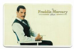 Freddie Mercury, Telecard 2000, U.S.A.. Prepaid Phone Card, PROBABLY FAKE, # Freddie-1 - Music