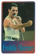Freddie Mercury, Telecard 2000, U.S.A.. Prepaid Phone Card, PROBABLY FAKE, # Freddie-2 - Music