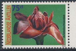 Nederlandse Antillen 2010 Mi 1804 ** Aristolochiaceae : Birthwort Family / Osterluzeigewächs - Flowers / Blumen / Blüten - Piante Velenose