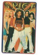 Spice Girls, Telecard 2000, U.S.A.. Prepaid Phone Card, PROBABLY FAKE, # Spicegirls-9 - Musik