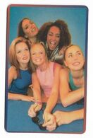 Spice Girls, Telecard 2000, U.S.A.. Prepaid Phone Card, PROBABLY FAKE, # Spicegirls-10 - Musik