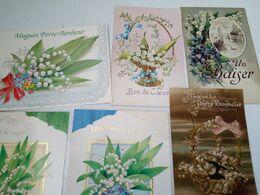 8 CP  MUGUET PORTE BONHEUR - 5 - 99 Postkaarten