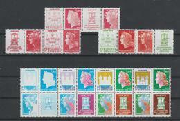 France 2010 Série 4459-4472 Boulazac 14 Val ** MNH - Unused Stamps
