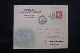FRANCE - Enveloppe FDC En 1949 - Citex - L 69495 - ....-1949