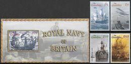 Sh13 Gambia Block&4 Stamps MNH-neuf - Ships