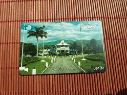 Jamaica Phonecard 100 $ Control Number 15 JAMA Used Rare - Giamaica
