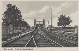 Kehl A. Rh. - Portal Der Eisenbahnbrücke - Kehl
