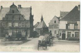 Antwerpen - Anvers - Sainte-Anne - Café Afspanning - Café De Zwaan - Edit. F.R. Anvers - 1908 - Antwerpen