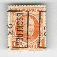 EECKEREN 1923 - Préoblitérés
