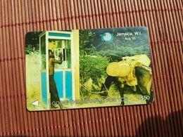 Jamaica Phonecard Control Number 15JAMC Used Rare - Giamaica
