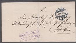 1910. STRALSUND 25.5.10. Frei Lt Avers. No. 21 Kgl. Pr. Regierung () - JF365387 - Preussen