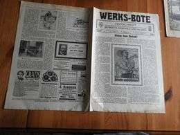 """Zeitschrift """"Werks-Bote 1929"""" Benrath , Reisholz Und Hilden. - Hobby & Verzamelen"""
