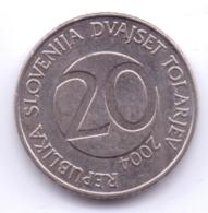 SLOVENIA 2004: 20 Tolarjev, KM 51 - Slovenia