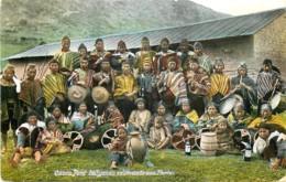 Perou - Cuzco - Indigenas Celebrando Una Fiesta - Peru