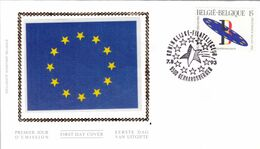 B01-181 COB 2519 FDC Soie  Prix Fixe 1,5€ - 1991-00