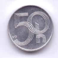CESKA REPUBLIKA 2000: 50 Haleru, KM 3 - Repubblica Ceca
