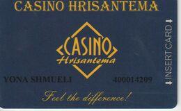 BULGARIA   KEY CASINO Casino Hrisantema - Casinokarten