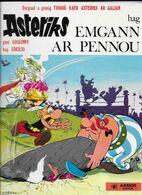 Asteriks Hag Emgann Ar Pennou En Breton Très Bon état - Comics (other Languages)