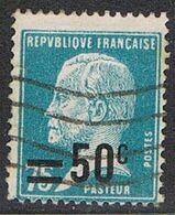FRANCE : N° 219 Oblitéré (Type Pasteur) - PRIX FIXE : 30 % De La Cote - - 1922-26 Pasteur
