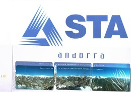 Telecartes (·3) ANDORRA ANDORRE Avec Publicite STA - Andorra