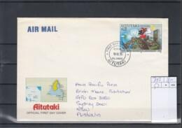 Aitutaki Michel Cat.No. FDC 743 - Aitutaki