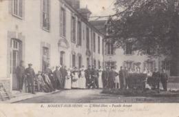 NOGENT SUR SEINE - AUBE - (10) - RARE CPA TRÈS ANIMÉE 1915. - Nogent-sur-Seine