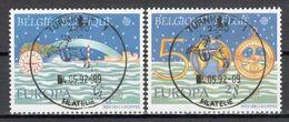 BELGIE: COB 2454/2455 Mooi Gestempeld. - Belgium