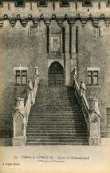 CPA - COMBOURG - CHATEAU - L'ESCALIER D'HONNEUR (IMPECCABLE) - Combourg
