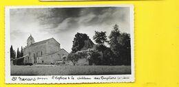 SAINT NEXANS Rare L'Eglise Et Le Château Des Templiers (Jehan Eyère) Dordogne (24) - Otros Municipios