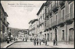 Italia / Italien / Italy: Avezzano, Via Marcantonio Colonna / Prima Del Terremoto Del 13 Gennaio 1915 - Avezzano