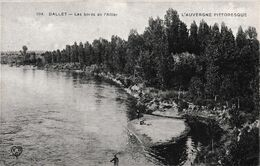 DALLET LES BORDS DE L'ALLIER ,PUB AU DOS BROSSERIE GRAYLOISE A.LAMUGNIERE   REF 67260 - Andere Gemeenten