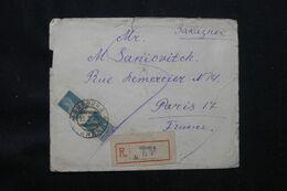 U.R.S.S. - Enveloppe En Recommandé De Winnica Pour Paris En 1929 - L 69546 - Briefe U. Dokumente
