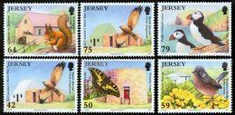 JERSEY 75è An. National Trust 6v 2011 Neuf ** MNH - Jersey