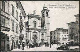 Italia / Italien / Italy: Avezzano, Piazza S. Bartolomeo  / Prima Del Terremoto Del 13 Gennaio 1915 - Avezzano