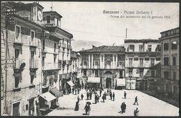 Italia / Italien / Italy: Avezzano, Piazza Umberto I  / Prima Del Terremoto Del 13 Gennaio 1915 - Avezzano