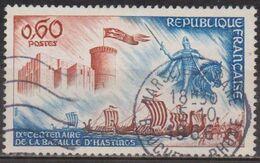 Histoire - Guillaume Le Conquérant - FRANCE - Drakkars - Bataille D'Hastings - Chateau De Falaise - N° 1486 - 1966 - Used Stamps